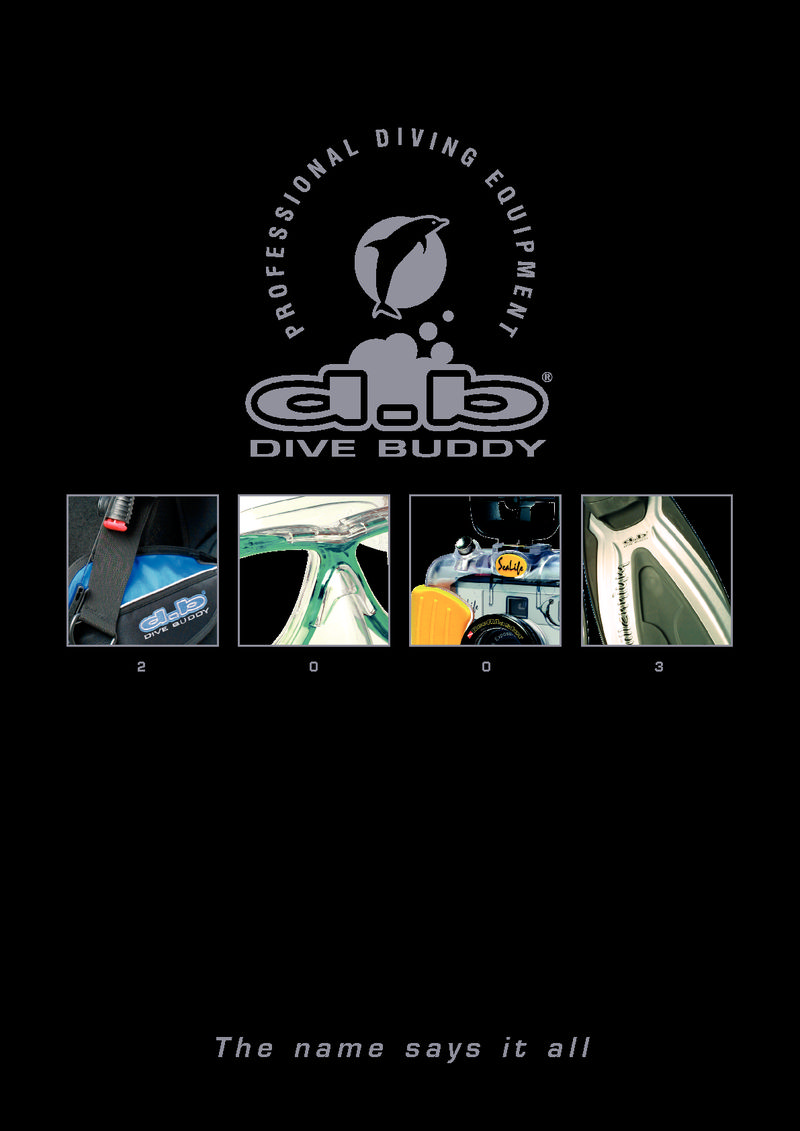 Dive Buddy Catalogue 2003